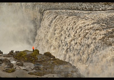 The amazing Dettifoss waterfall in Vatnajökull National Park, I