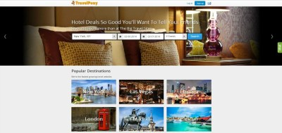travel pony hotel search engine