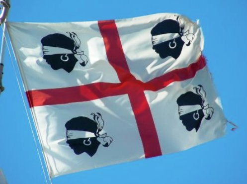 Blindfolded moors – The Flags of Corsica and Sardinia