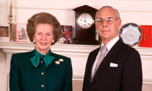 Baroness Thatcher and Dennis Thatcher (Baron Thatcher)