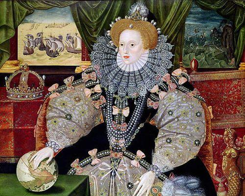 Elizabeth I in the Armada Portrait
