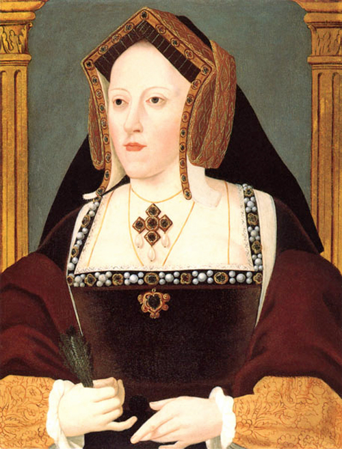 Catherine of Aragon by By Lucas Hornebolte [Public domain], via Wikimedia Commons