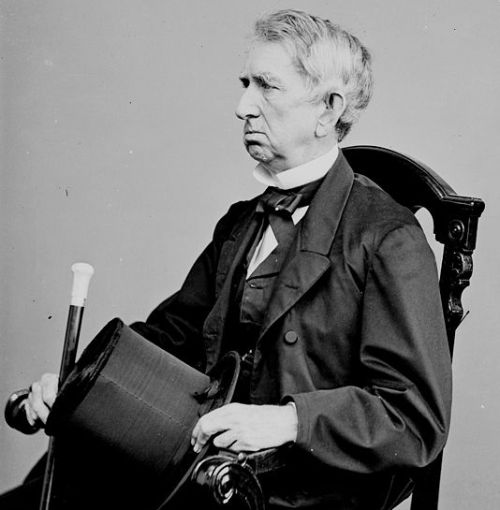 William Seward, Secretary of State,By Mathew Brady [Public domain], via Wikimedia Commons