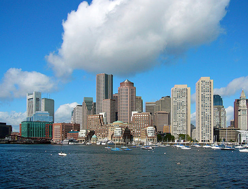 Boston city scape By Nelson48 at English Wikipedia (Own work) [Public domain], via Wikimedia Commons
