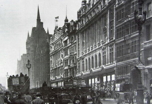 Gamages on Holborn (next to Holborn Circus)