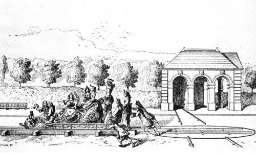 The Roulette at Versailles - a rather more courtly (and sedate) version of the train