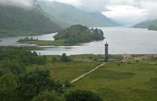 One of the Scottish glens that was integral to the Mid-Scotland Ship Canal idea