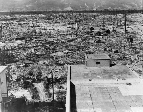 The atomic effects of Hiroshima