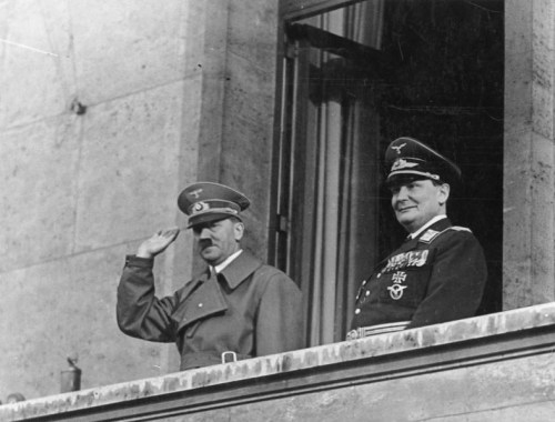 Hitler and Hermann Goering