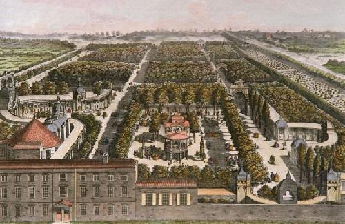 Vauxhall Gardens by Samuel Wale c. 1751