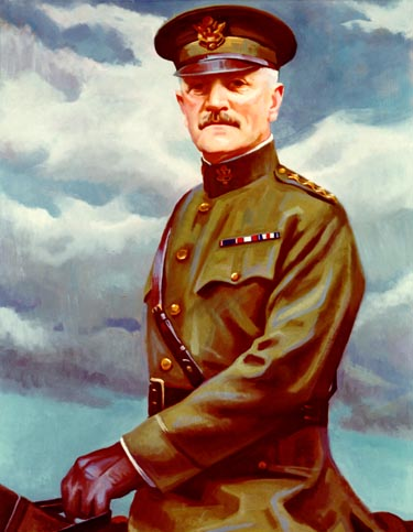 General John Pershing As Chief of Staff Credit - courtesy of the United States Army