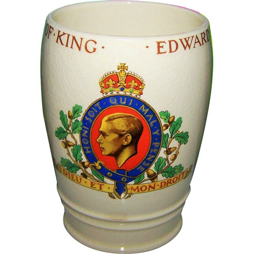 Souvenir for the coronation of Edward VIII