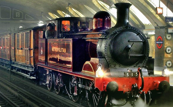 Commuting hell on the underground steam railway – Almost History