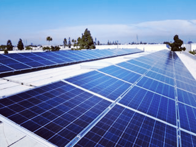 Commercial solar in Garden Grove, California