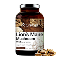 Naturebell Maximum Strength Organic Lions Mane Mushroom