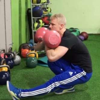 kettlebell pistol squat