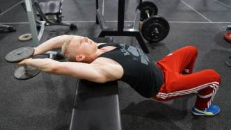 straight arm pullovers for rib cage mobility
