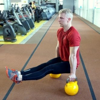 l-sit for core gymnastics bodyweight workout