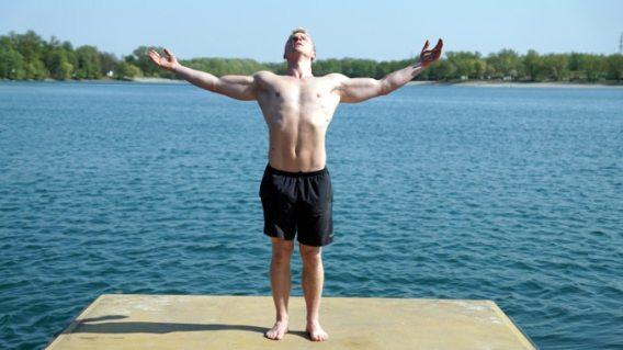 abundance open close pose yoga