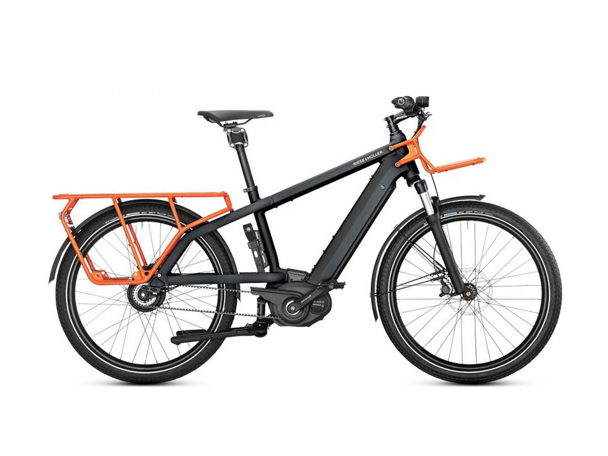 Electric Cargo Bike Riese Amp Muller Multicharger Mixte Light