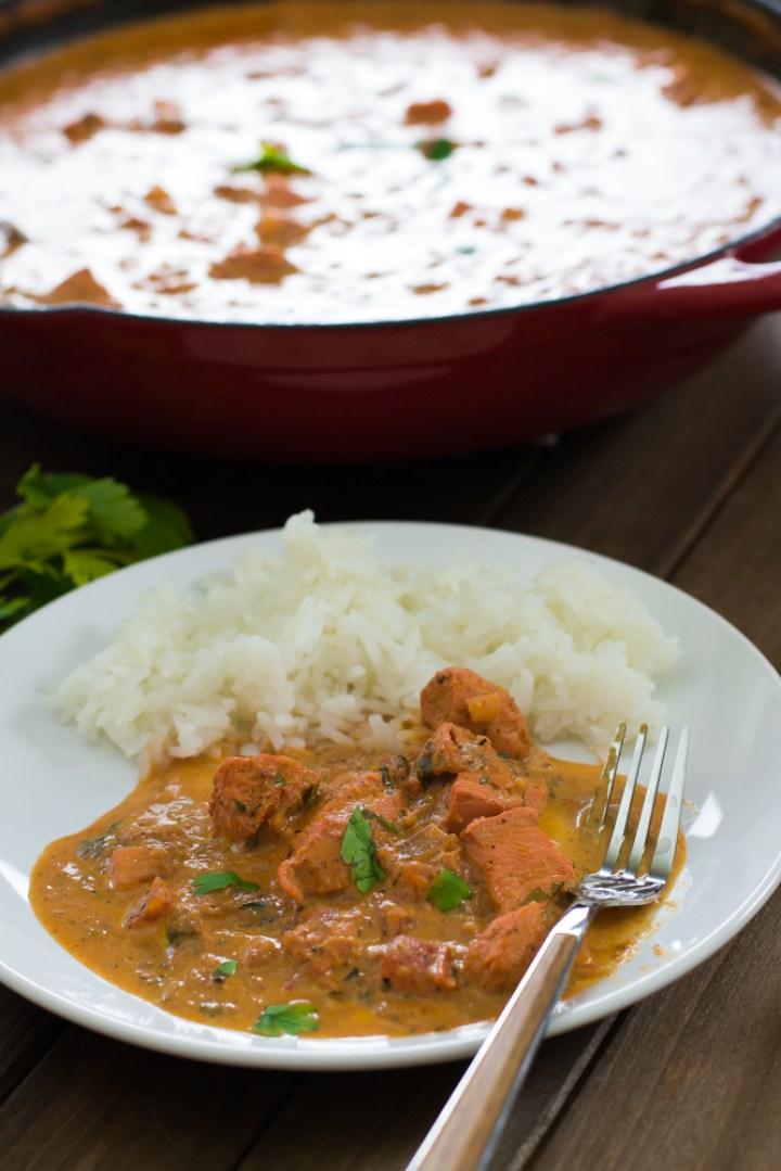 Chicken Masala - Molho estilo strogonoff com temperos indianos #vaicomeroque #frango #molho #receita (1 of 1)-5