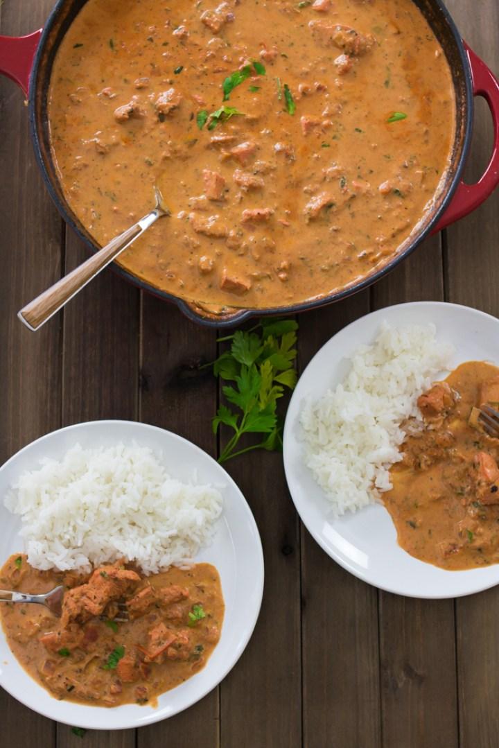Chicken Masala - Molho estilo strogonoff com temperos indianos #vaicomeroque #frango #molho #receita (1 of 1)-6