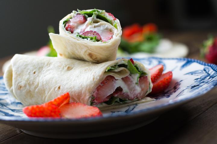 wrap de rucula e morangos #wrap #vaicomeroque #receita (1 of 1)-8