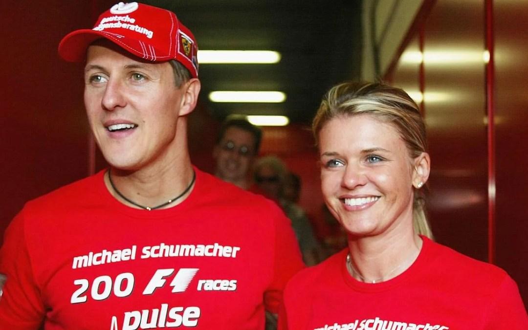 Esposa de Michael Schumacher revela detalles de la salud del expiloto