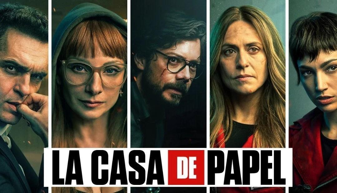 """""""La casa de papel"""" temporada 5 parte 1 ya está disponible en Netflix"""