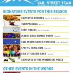 Street Team's 2014-15 Winter Calendar of Events