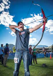 5. Ryan Berringer, Archery Event.
