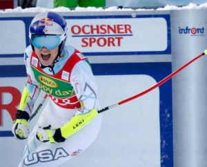Lindsey Vonn's 70th World Cup Victory