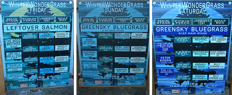 WinterWonderGrass signs