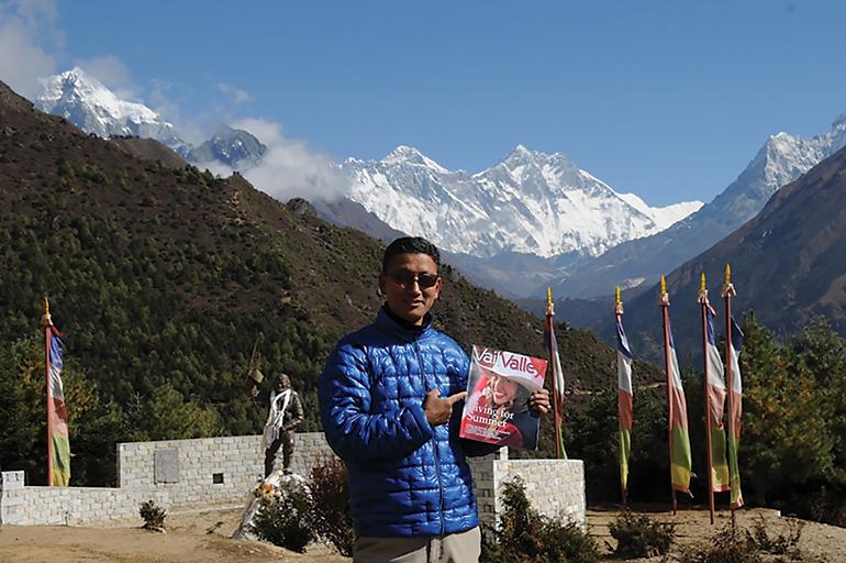Nepal Mt Everest Vail Valley Magazine
