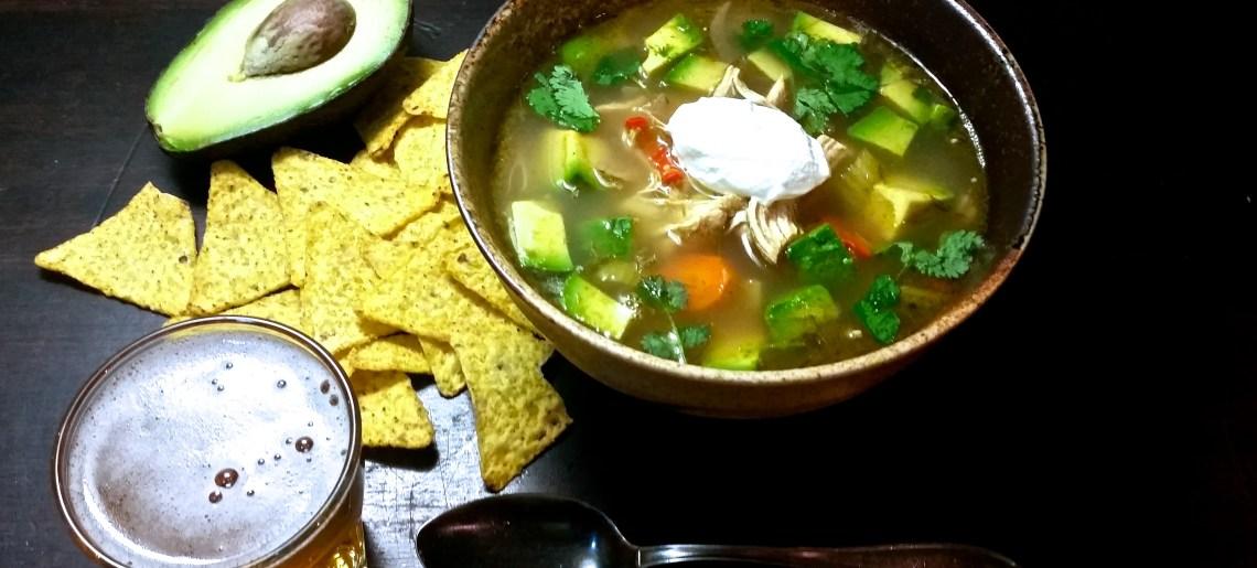 Hätähousun salsa verde -keitto