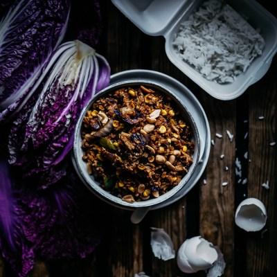 Hävikkiviikon paistettu riisi
