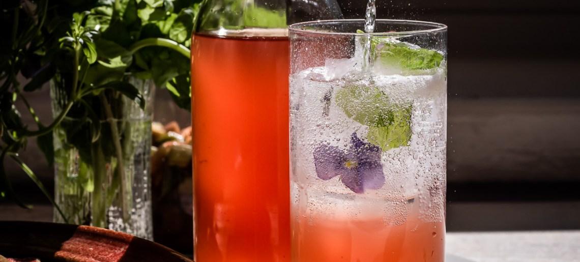 Raparperi shrub – juotava etikka