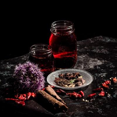 Kotitekoinen chiliöljy sichuanilaisittain
