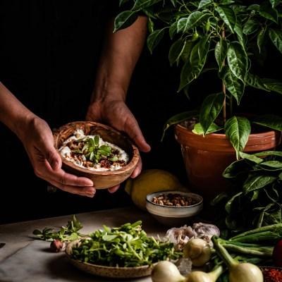 Turkkilainen portulakkasalaatti – Yoğurtlu Semizotu Salatası