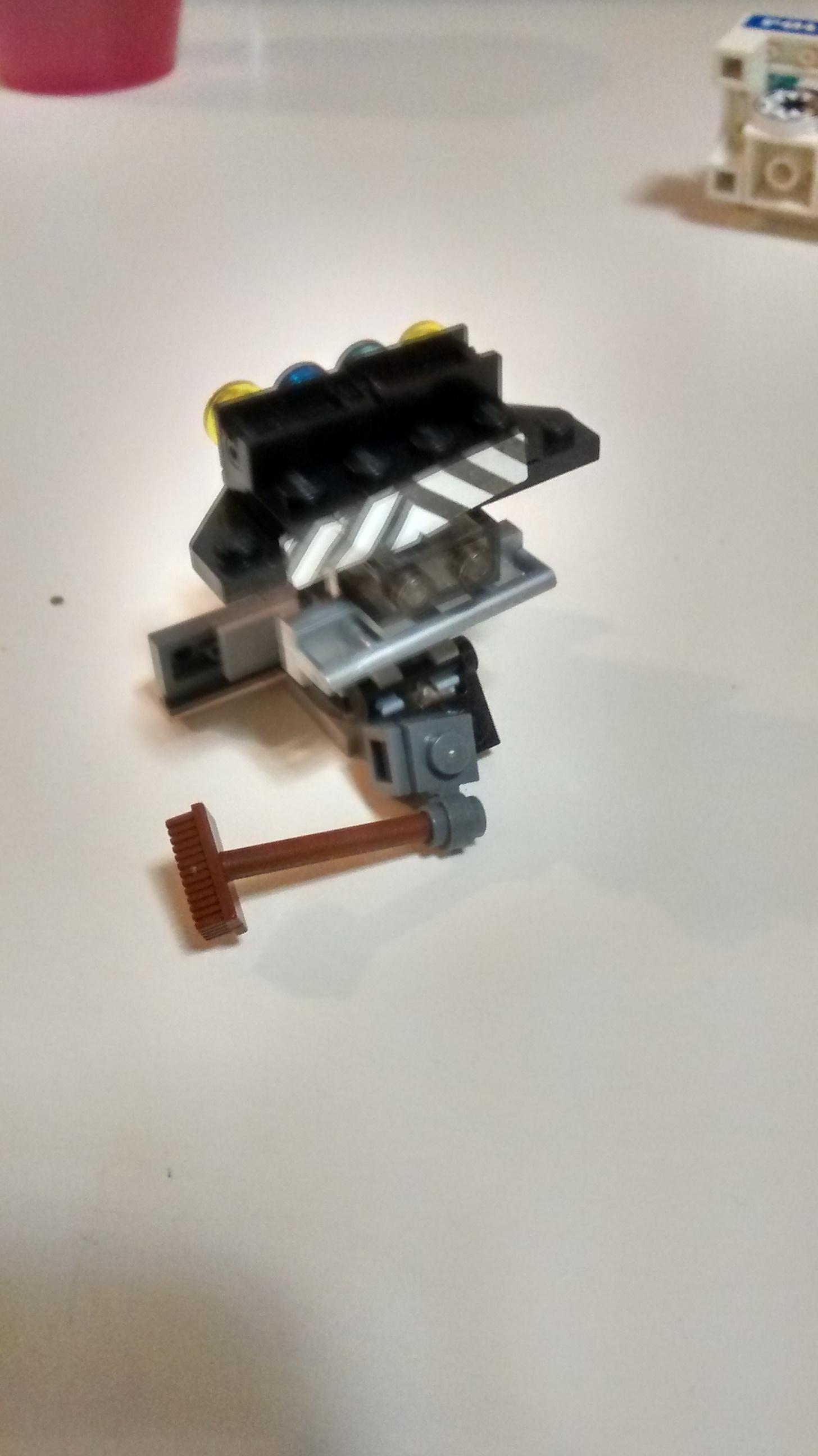 Cleaner Robot (Back)