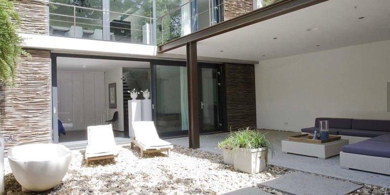 Betonnen boshuis landgoed Bergvliet design vakantiehuis11