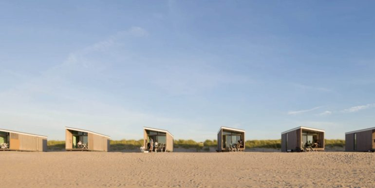 Strandhuisje Kijkduin Den Haag Largo Roompot 1