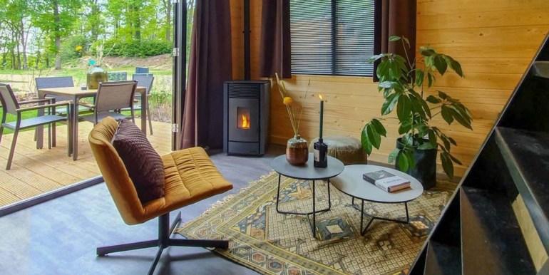 Tiny House 4 personen vakantie droompark Maasduinen Limburg 3