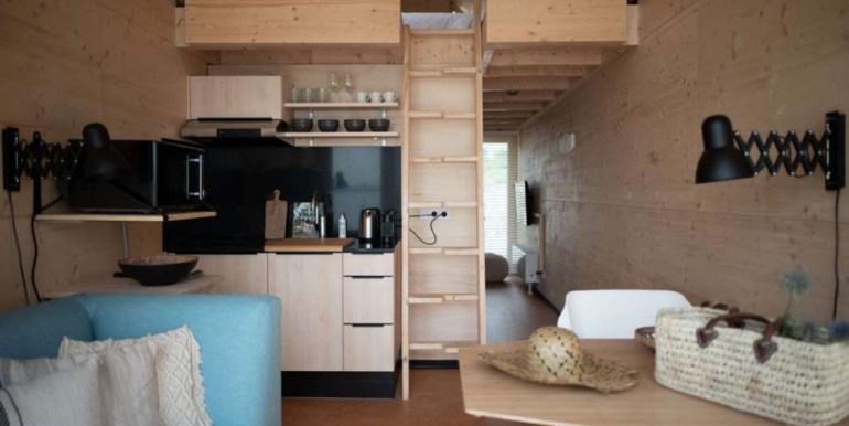 Tiny House aan het Grevelingenmeer Quiros Strandhuis Zeeland 6