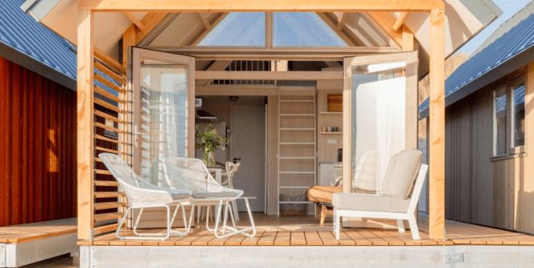 4-persoons strandhuisje aan zee Vlissingen Zeeland Roompot 05