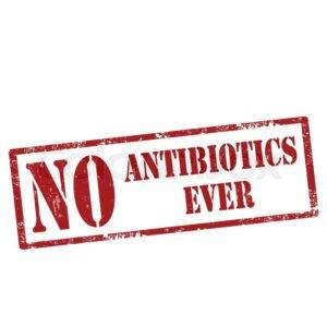 No Antibiotics Ever