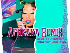 Victoria Kimani & FKI 1st ft. Stonebwoy – Afreaka (Remix)