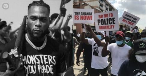 """""""It Will Get Worse But Please LET US NEVER BACK DOWN"""" – Burna Boy Writes"""
