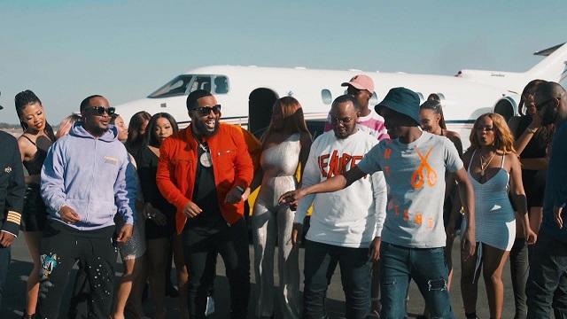 VIDEO: Major League & Abidoza ft. Cassper Nyovest, Kammu Dee, Ma Lemon – Le Plane E'Landile