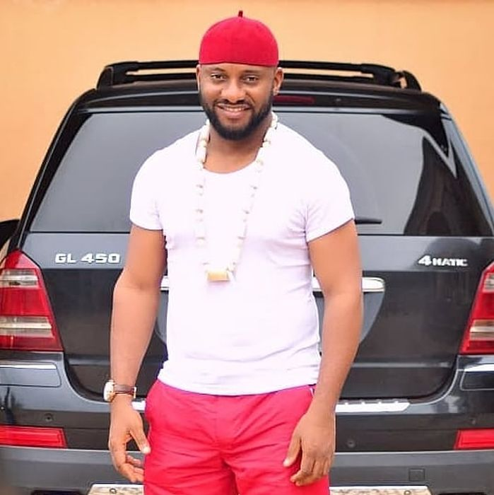 EndSWAT: Yul Edochie Leads Protest In Asaba